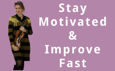 Violin Practice Tips to Stay Motivated and Improve Fast | Violin Lounge TV #296