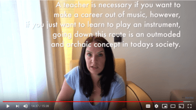 online piano and violin tutor thinks private lessons are outmoded and archaic
