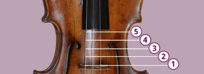 violin contact points bowing