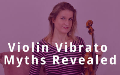 2 Violin Vibrato Myths Revealed   Violin Lounge TV # 299