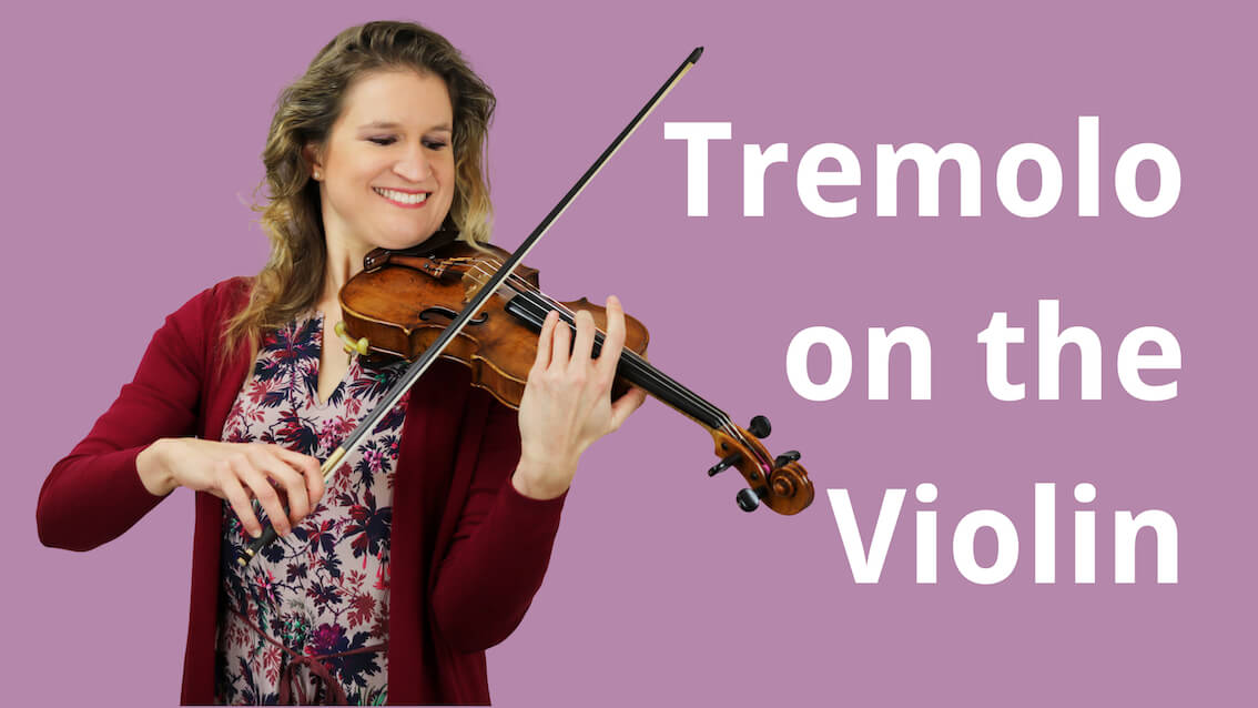 How to Play Tremolo on the Violin | Violin Lounge TV # 298