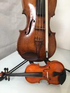 children size violin