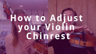 How to Adjust your Violin Chinrest and Play Comfortably
