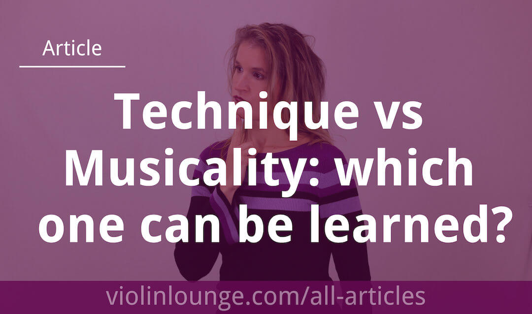 Technique vs Musicality: Which One is Learnable?