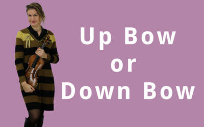Up Bow or Down Bow: What Violin Bow Direction to Choose? | Violin Lounge TV #300
