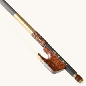 gold mounted violin bow
