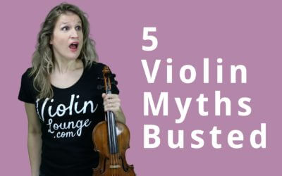 5 Myths Violin Teachers Tell You | Violin Lounge TV #310