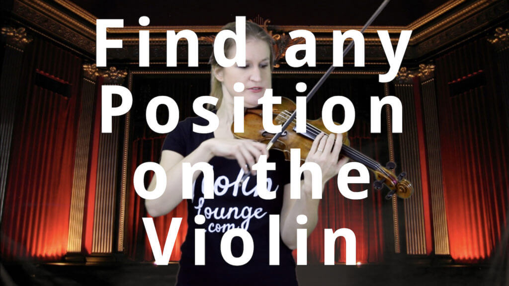 How to Find any Position on the Violin