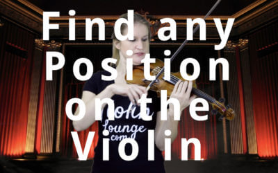 How to Find any Position on the Violin | Violin Lounge TV #307