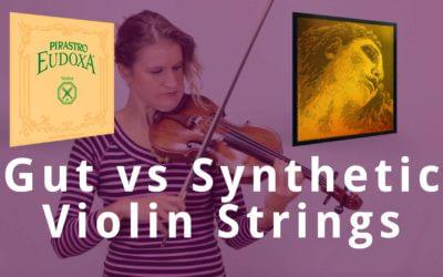 Gut vs Synthetic Violin Strings | Violin Lounge TV #309