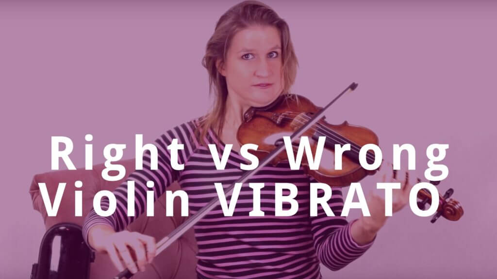 Right vs Wrong Violin VIBRATO