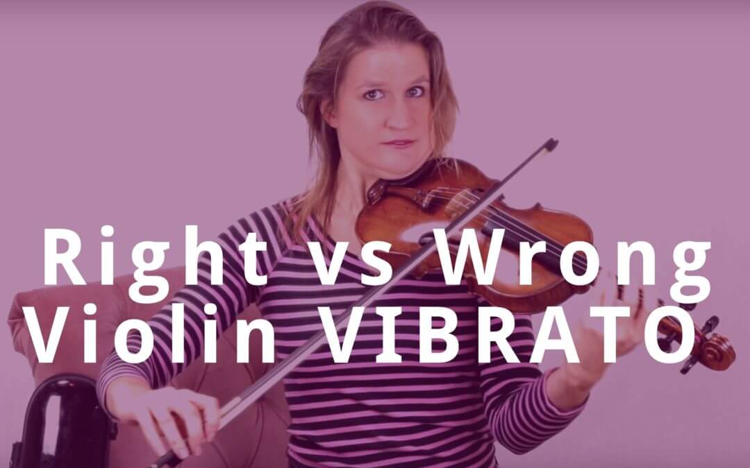 Right vs Wrong Violin VIBRATO | Violin Lounge TV #311