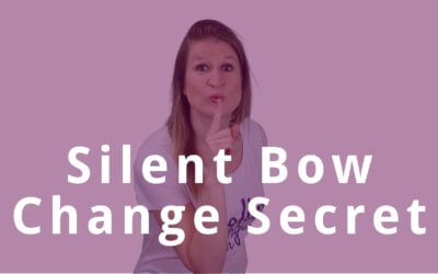 The Secret to Silent Bow Changes on the Violin | Violin Lounge TV #312