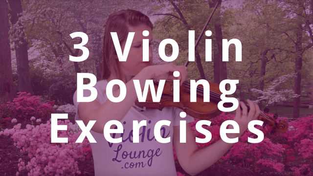 3 Violin Exercises to Automate Smooth and Straight Bowing | Violin Lounge TV #317