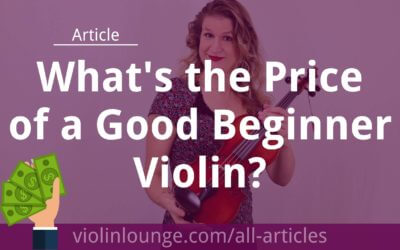 What's the Price of a Good Beginner Violin?