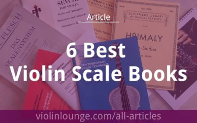 6 Best Violin Scale Books