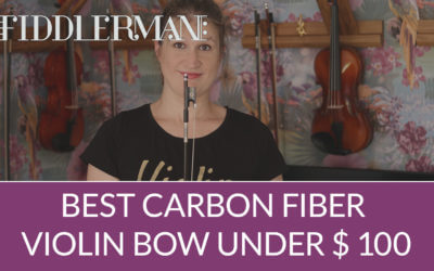 Best Carbon Fiber Violin Bow Under $ 100 (Fiddlerman Weave) | Violin Lounge TV #321