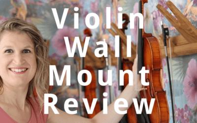 Violin Wall Mount Review: Jolly Music Rail | Violin Lounge TV #319