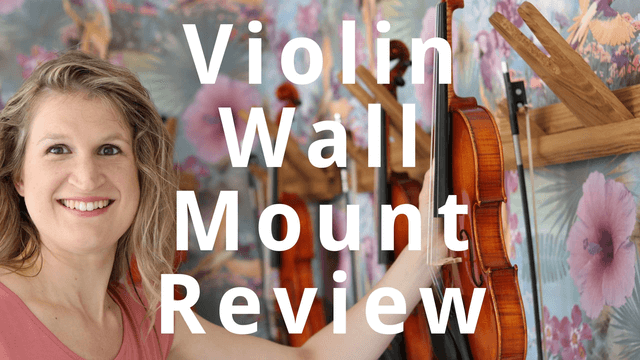 Violin Wall Mount Review: Jolly Music Rail