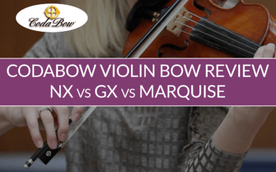 CodaBow Carbon Fiber Violin Bow Review | Violin Lounge TV #325