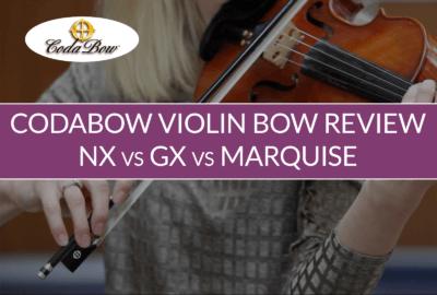 CodaBow Carbon Fiber Violin Bow Review | Violin Lounge TV #325