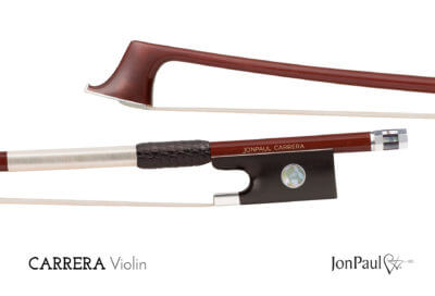 JonPaul Carrera violin bow review