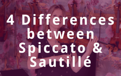 4 Differences between Spiccato and Sautillé on the Violin | Violin Lounge TV #326