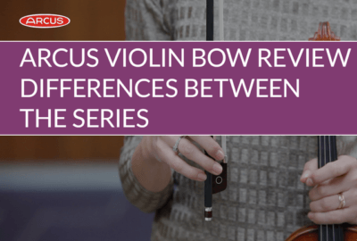 Arcus M, P and S-series Carbon Fiber Violin Bow Review | Violin Lounge TV #329