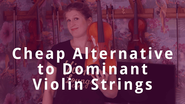 Thomastik Dominant vs Fiddlerman Violin String Review | Violin Lounge TV #331