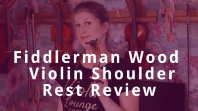 Ultimate Test: Fiddlerman Wood Violin Shoulder Rest | Violin Lounge TV #327
