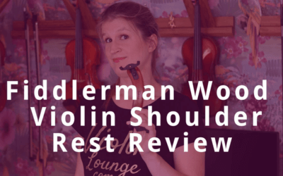 Ultimate Test: Fiddlerman Wood Violin Shoulder Rest | Violin Lounge TV #327