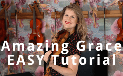 How to Play Amazing Grace on Violin: EASY Beginner Tutorial | Violin Lounge TV #330
