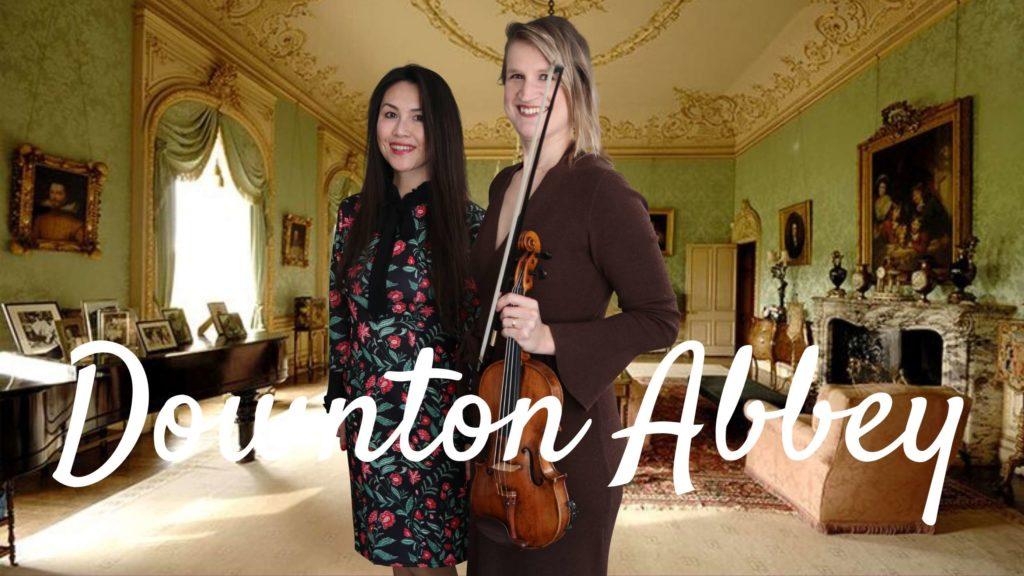 Downton Abbey violin piano