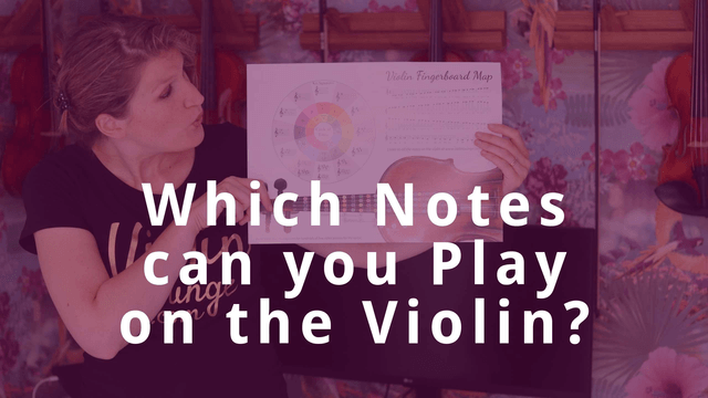 Which Notes can you Play on the Violin? | Violin Lounge TV #334