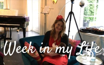 Week in my Life as a Twin Mom, Violinist and YouTuber | Violin Lounge TV #337