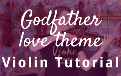 How to Play the Godfather Love Theme on the Violin | Violin Lounge TV #336
