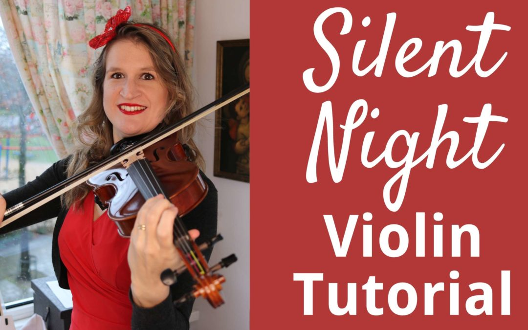 How to Play SILENT NIGHT on the Violin | Easy Christmas Tutorial for Beginners | Violin Lounge TV #343