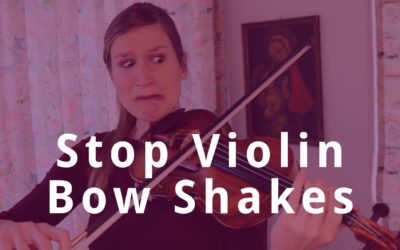 9 Tips to Stop Violin Bow Shakes or Unwanted Bounces | Violin Lounge TV #349