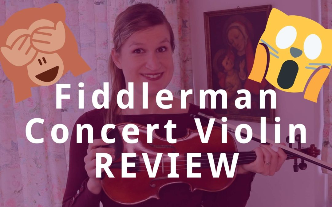 Fiddlerman Concert Violin Review (funny)