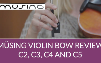 Müsing Carbon Fiber Violin Bow Review | Violin Lounge TV #350