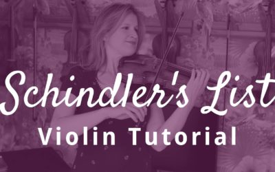 How to Play Schindler's List Violin Solo Theme by John Williams | Violin Lounge TV #352