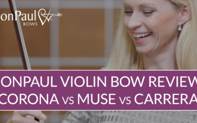JonPaul Carbon Fiber Violin Bow Review | Violin Lounge TV #354