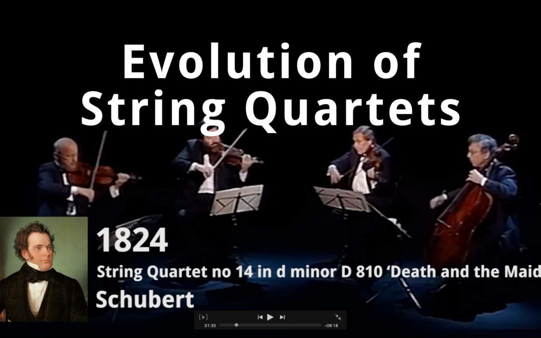 Evolution of String Quartets | Violin Lounge TV # 357