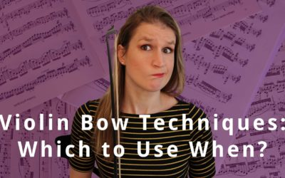 Notation of Violin Bowing Techniques in Sheet Music   Violin Lounge TV #371