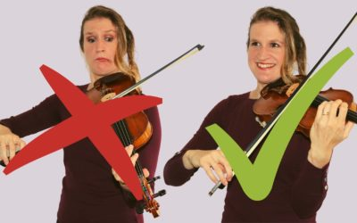 20 Tips to NOT Hit Other Strings and Sound Scratchy on the Violin | Violin Lounge TV #377