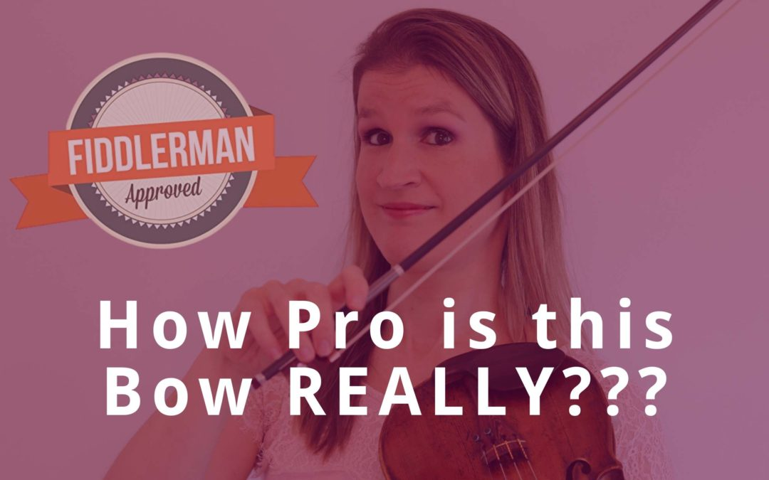 PRO or NO? Testing the Fiddlerman Pro Series Violin Bow | Violin Lounge TV #374