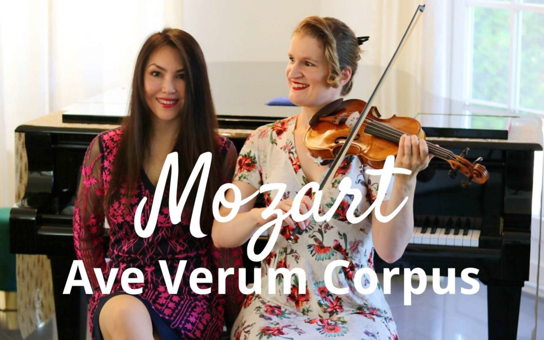 MOZART Ave Verum Corpus (violin and piano)