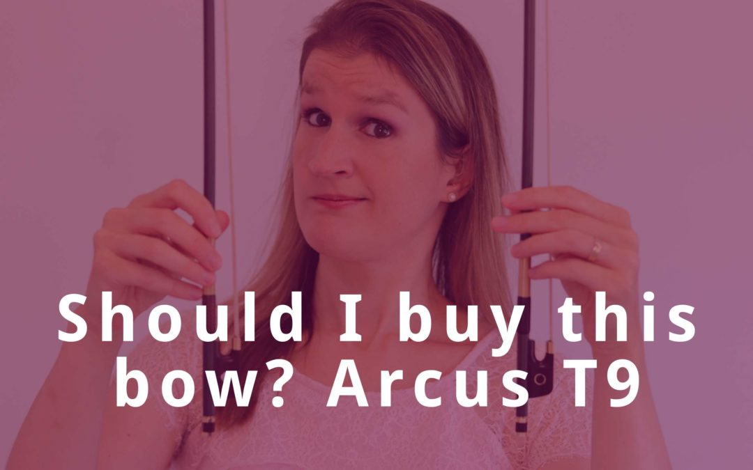 Testing the NEW Arcus T series: am I buying a new violin bow? | Violin Lounge TV #378
