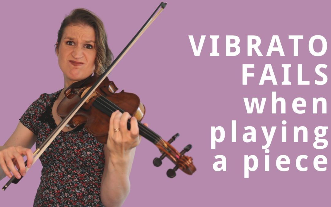 Why your VIOLIN VIBRATO suddenly STOPS working when you play a piece | Violin Lounge TV #379