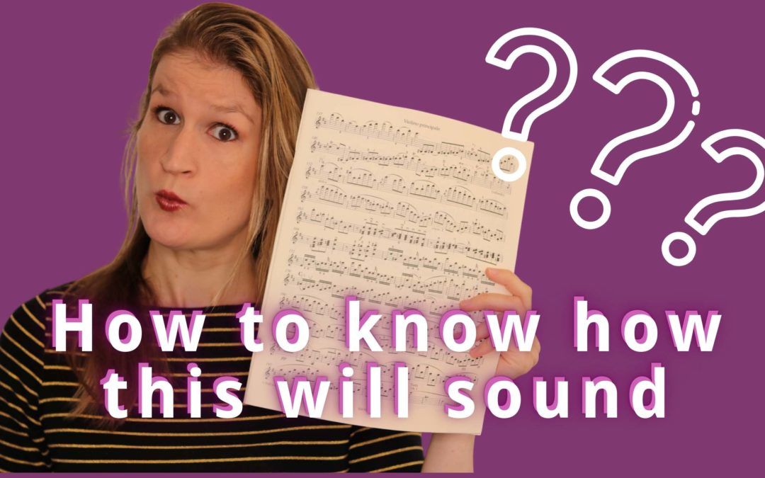 How to play from sheet music when you have NO idea how it should sound | Violin Lounge TV #385